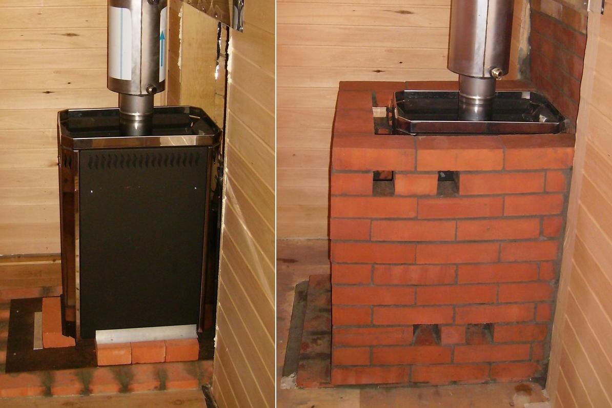 Можно ли обкладывать печь на цементный раствор заказать бетон 7 кубов